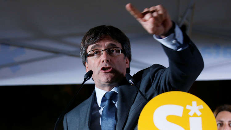 رئيس كاتالونيا: لن نقدم أي تنازلات لمدريد في مسألة الاستفتاء