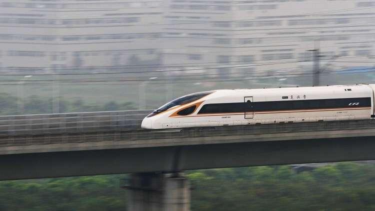 انطلاق أسرع قطار في العالم!