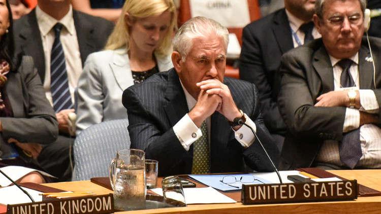 تيلرسون: الخيارات العسكرية لحل القضية الكورية الشمالية واردة