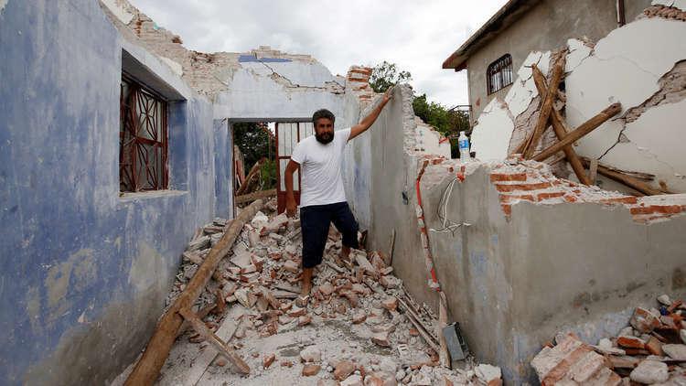 زلزال جديد بقوة 6.2 درجة يهز المكسيك