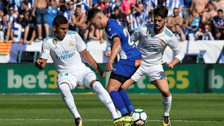 شاهد.. أول أهداف ألافيس بالليغا في شباك ريال مدريد