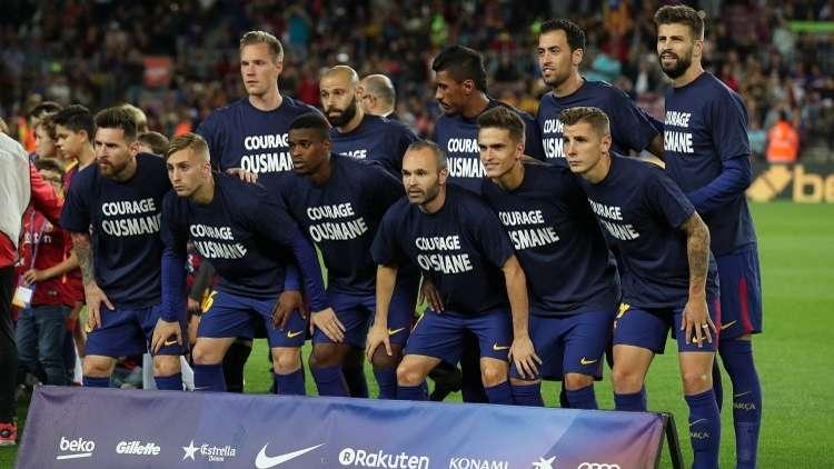 تشكيلة برشلونة ومضيفه جيرونا
