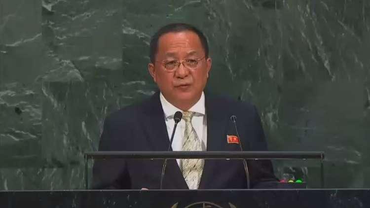 وزير خارجية كوريا الشمالية يهدد واشنطن بـ