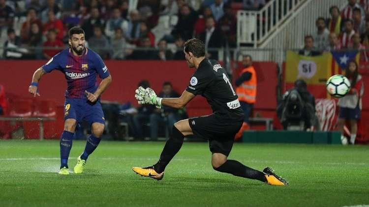 برشلونة يجهز على جيرونا بـ