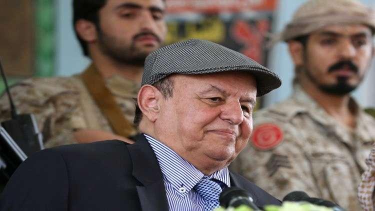 عبد ربه منصور هادي: الحل العسكري هو الأرجح لإنهاء النزاع