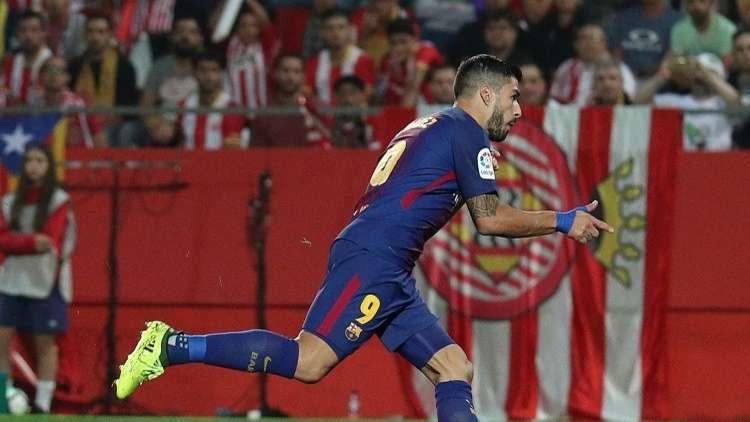 بالفيديو.. هدف سواريز في مباراته رقم 100 بقميص برشلونة