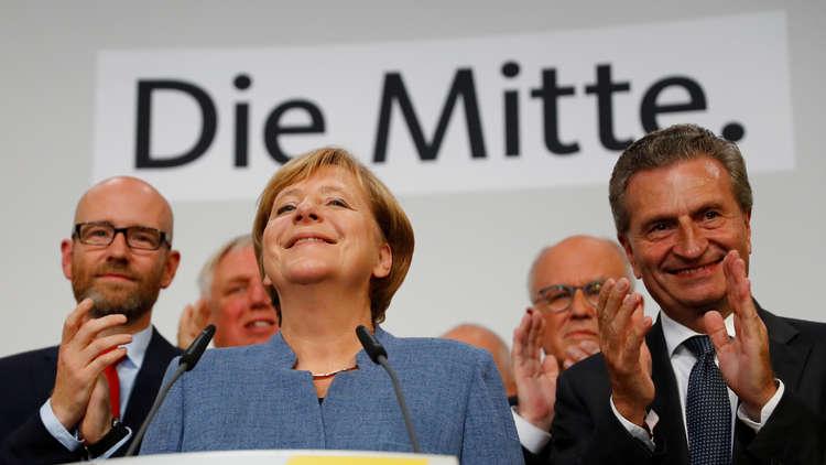 نتائج أولية: حزب ميركل يتقدم في الانتخابات الألمانية واليمين القومي يحقق نتائج تاريخية
