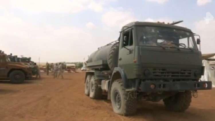 قناة روسية تنشر لقطات حصرية لبداية هجوم النصرة على الكتيبة الروسية بإدلب