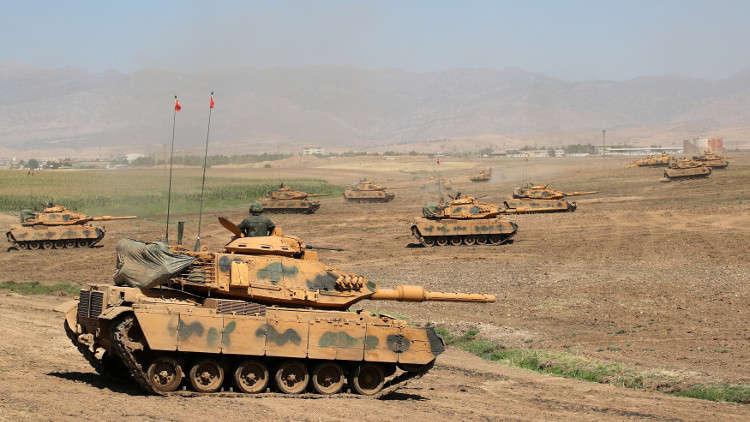 زحمة مناورات حربية على حدود كردستان العراق