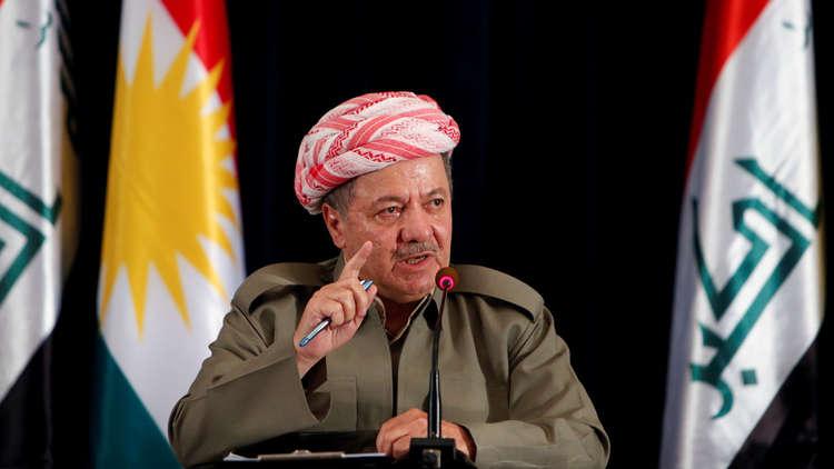 بارزاني للعبادي: على الحكومة العراقية بناء