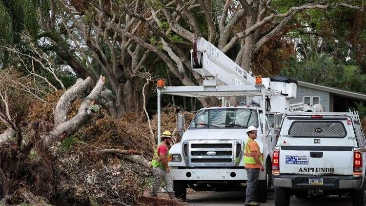 حصيلة قتلى إعصار إيرما في فلوريدا ترتفع إلى 72