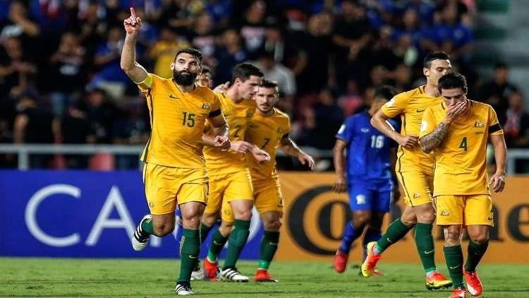 تصفيات المونديال..منتخب أستراليا يخسر قائده أمام سوريا