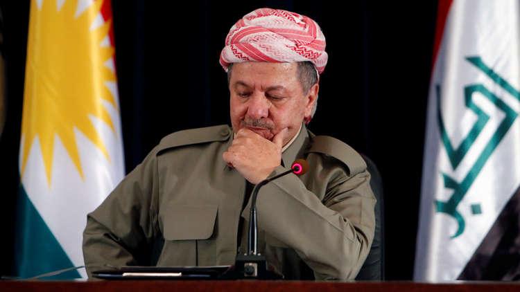 البرلمان العراقي يوصي بمحاكمة بارزاني