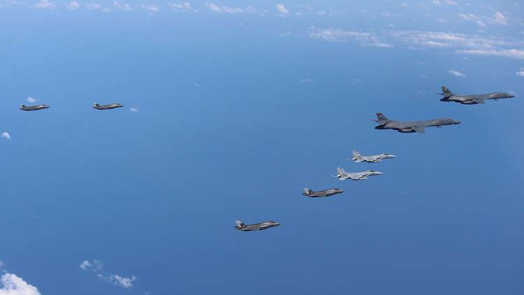 نشر السلاح الاستراتيجي الأمريكي حول شبه الجزيرة الكورية بحلول عام 2018