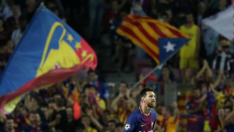برشلونة يركز على كرة القدم وليس الاستقلال
