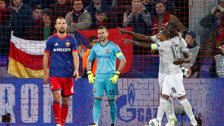 خسارة قاسية لتسيسكا من مانشستر يونايتد في أبطال أوروبا