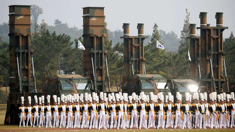 كوريا الجنوبية تستعرض قوتها أمام جارتها الشمالية