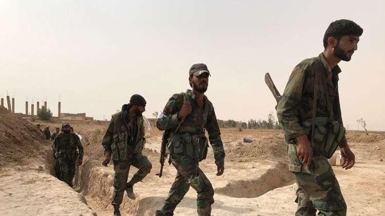 الجيش السوري يضيق الخناق على