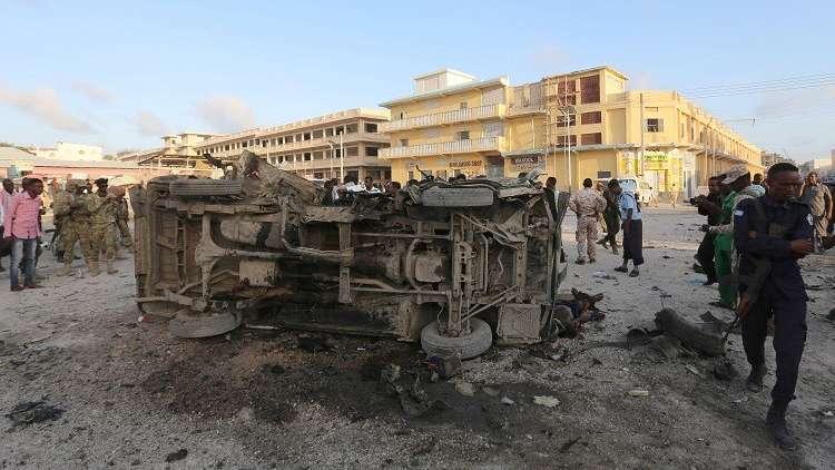 مقتل 17 جنديا في هجوم إرهابي على قاعدة عسكرية بالصومال