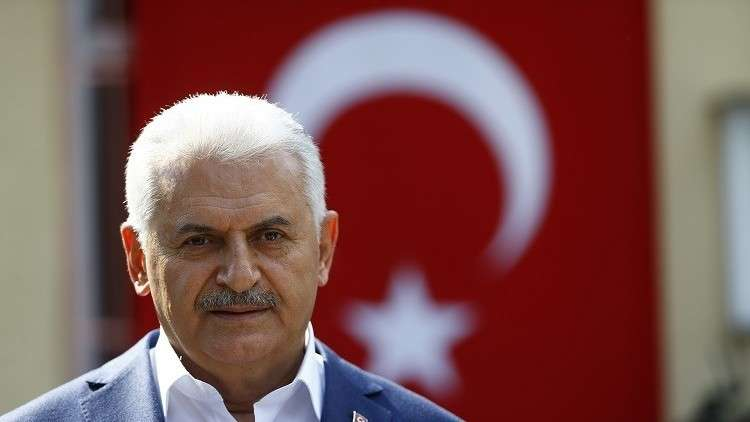 يلدريم: الرد على استفتاء الأكراد لن يستهدف إلا أصحابه