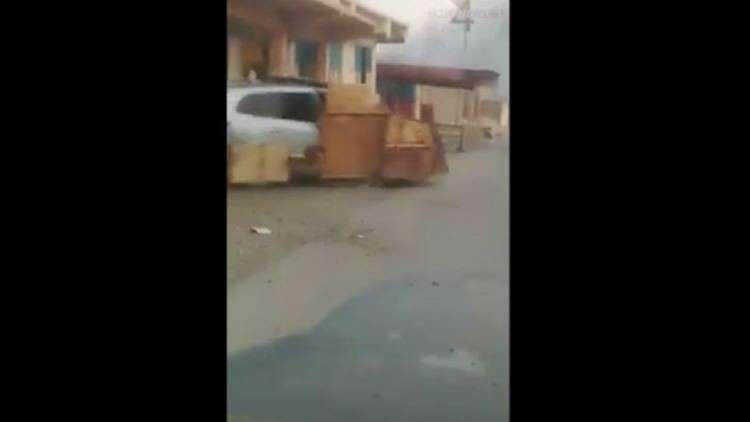 بالفيديو.. لحظة تدمير دبابة