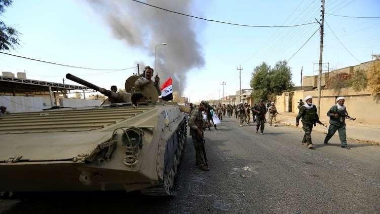القوات العراقية تحرر بلدة العباسي في كركوك