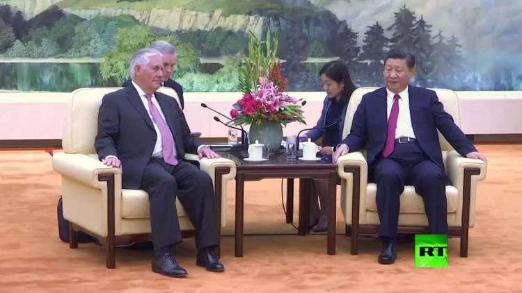 تيلرسون في الصين لتنفيذ العقوبات الأممية ضد كوريا الشمالية