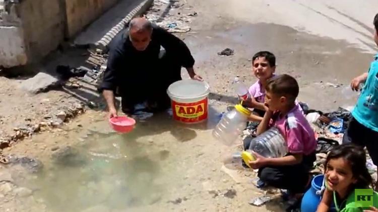 تلوث المياه في قطاع غزة يبلغ نسبا كارثية!