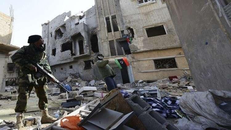مقتل مدنيين ومسلحين باشتباكات في صبراتة الليبية