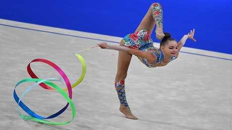 بطلة الجمباز الروسية أرينا أفيورينا