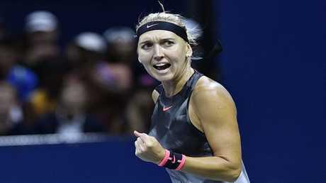 لاعبة التنس الروسية يلينا فيسنينا
