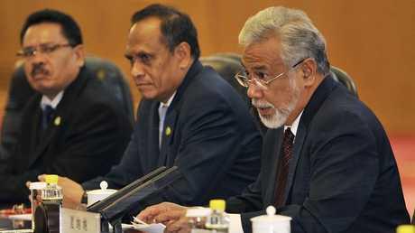 الرئيس السابق لتيمور الشرقية ورئيس وفد البلاد إلى المفاوضات زانانا كوسماو