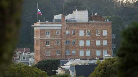 القنصلية الروسية في سان فرانسيسكو (صورة ارشيفية)