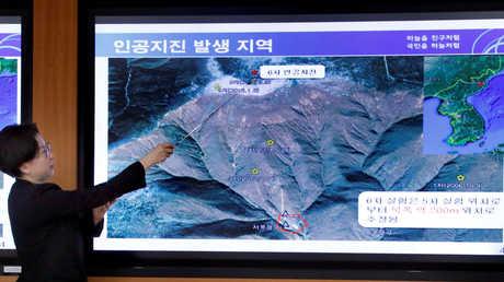 زلزال في كوريا الشمالية ترجح سيئول أنه اصطناعي ناجم عن تجربة نووية