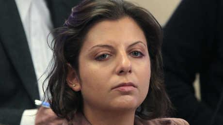 رئيسة تحرير شبكة قنوات RT ووكالة Sputnik مارغريتا سيمونيان