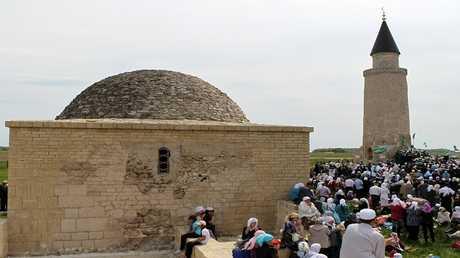 مدينة بولغار التاريخية على نهر الفولغا بجمهورية تتارستان