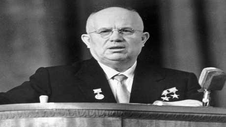 الزعيم السوفيتي الراحل نيكيتا خروشوف  سيرغي