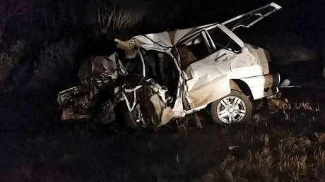 صورة ارشيفية لحادث مرور