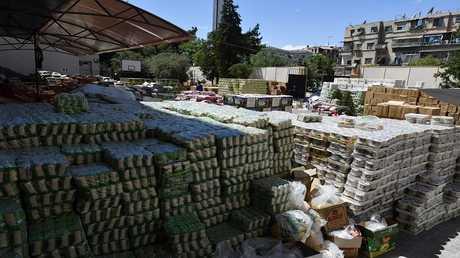 أرشيف - مساعدات إنسانية - دمشق