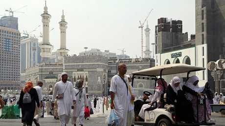 مكة مكرمة خلال موسم الحج عام 2017