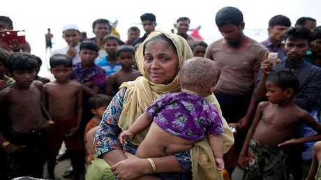 لاجئون مسلمون من ميانمار