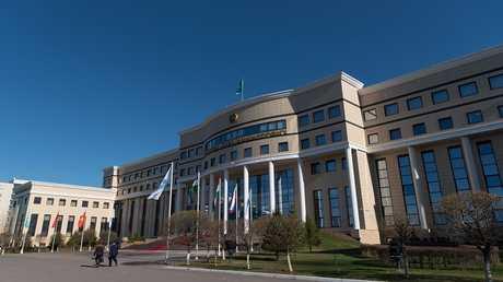 مبنى وزارة خارجية كازاخستان في العاصمة أستانا