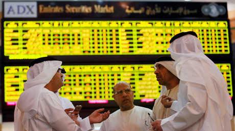 مستثمرون في بورصة أبو ظبي
