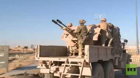الجيش السوري يتقدم صوب مطار دير الزور