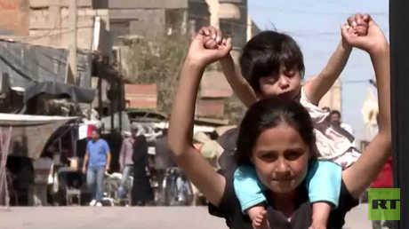 RT ترصد أوضاع المواطنين في دير الزور