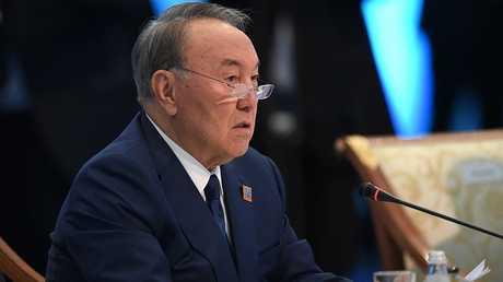 رئيس كازاخستان نور سلطان نزاربايف
