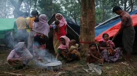 لاجئون روهينغا في كوتوبالونغ - بنغلاديش 9 سبتمبر 2017
