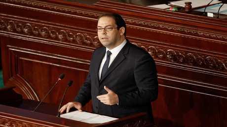 يوسف الشاهد رئيس الحكومة التونسية
