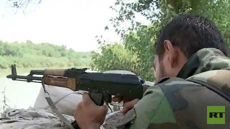 الجيش يسيطر على البانورما بدير الزور