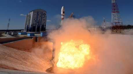 عملية إطلاق صاروخ سويوز 2.1A  من قاعدة فوستوتشني - روسيا 28 أبريل 2016